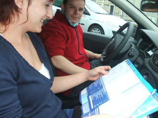 moniteur, auto ecole, permis de conduire, code de la route
