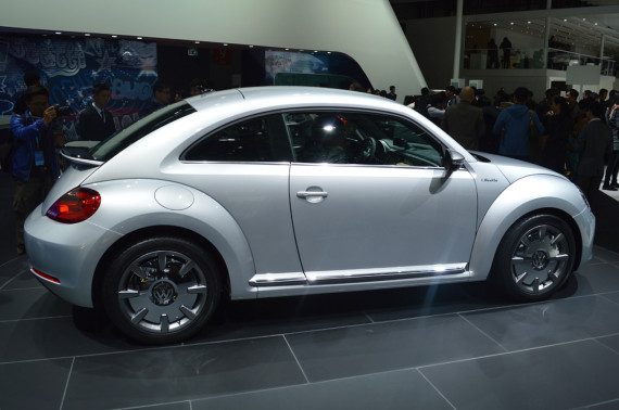 La iBeetle dans un salon automobile