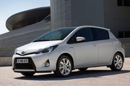 Toyota Yarris Hybride, véhicule essence qui consomme le mois