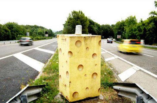 Radar en forme de gruyère