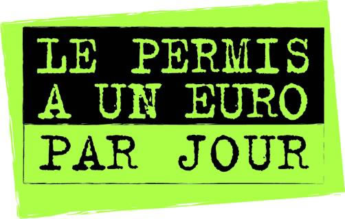 permis, 1€, jeunes, code de la route, auto ecole