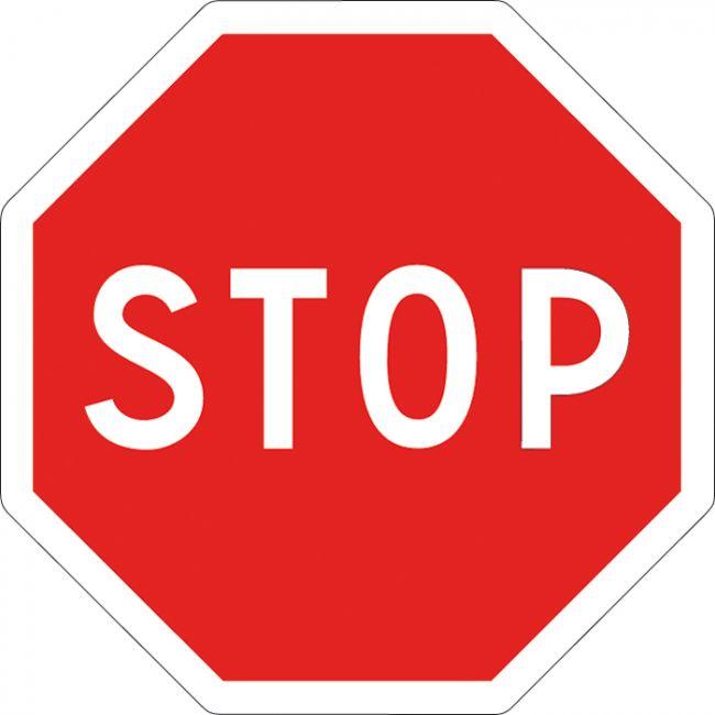 Leçon et Cours code de la route : Panneau Stop