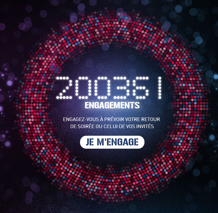 Un engagement via Twitter et Facebook